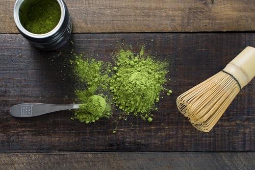 Πράσινο τσάι ή  Μatcha;